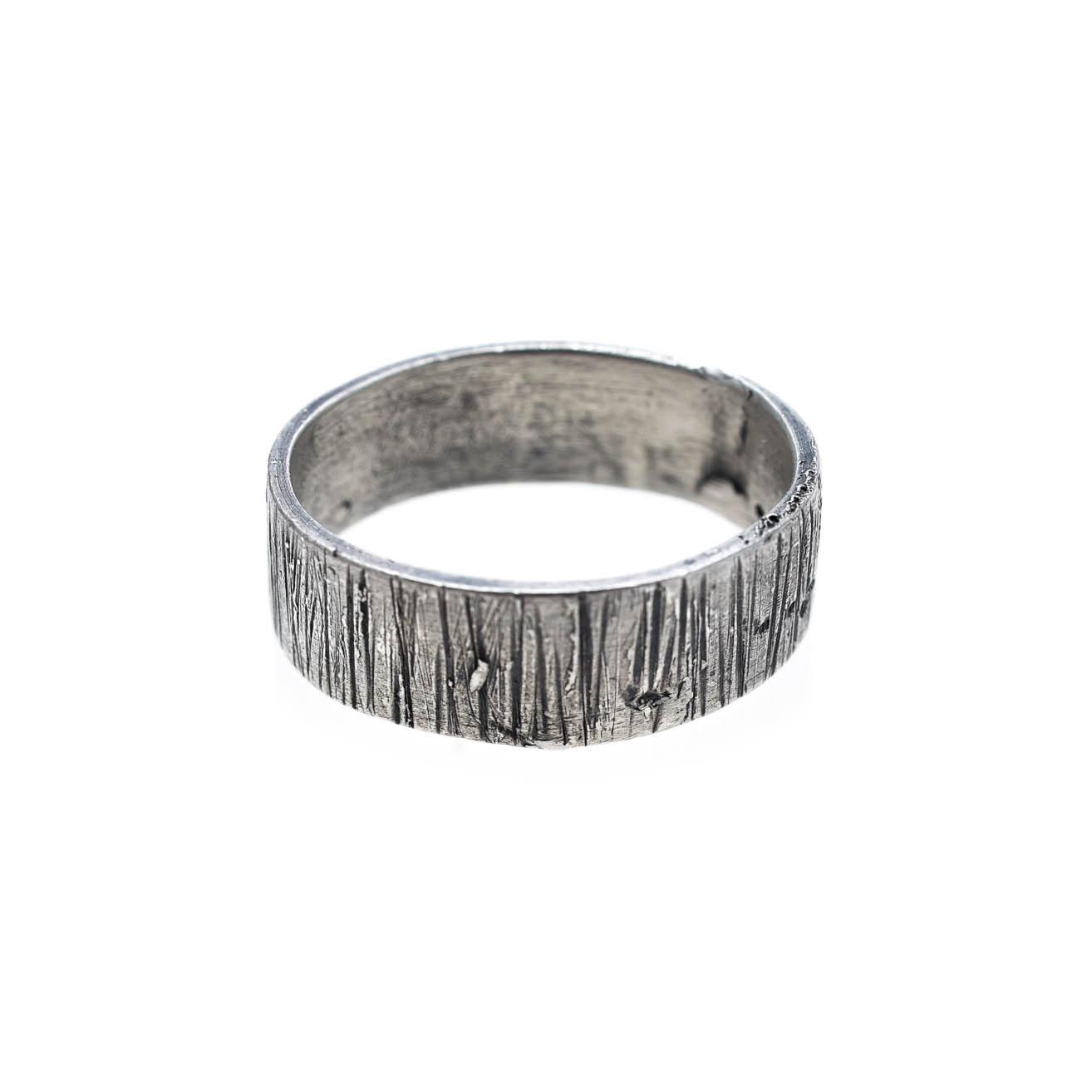 Sterling silver ring by Katerina Glinou