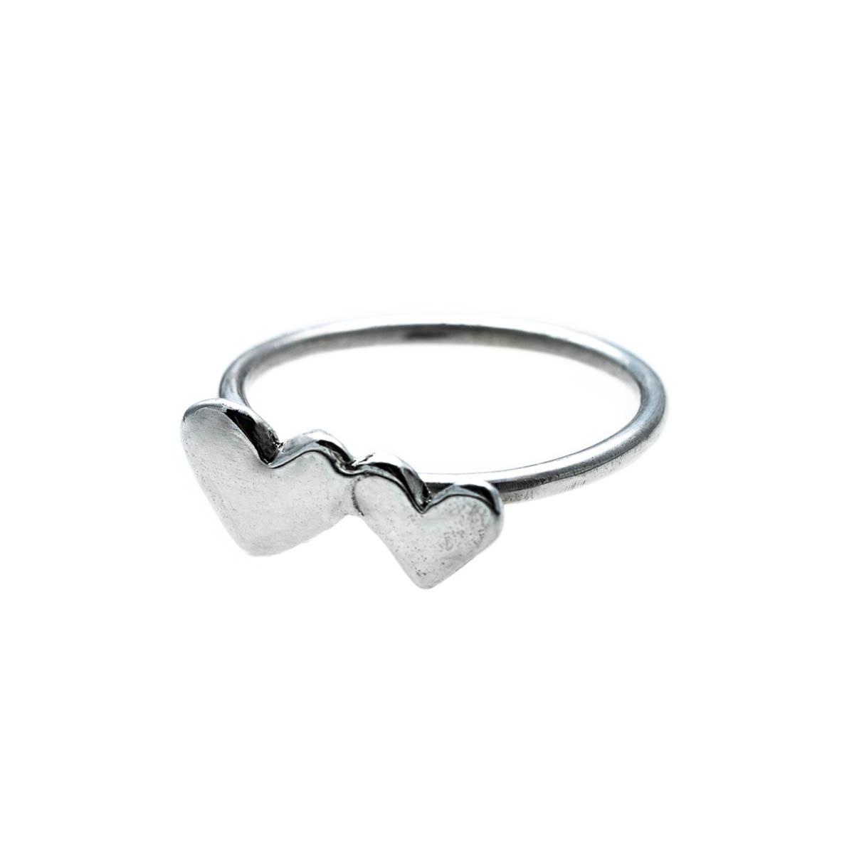 Sterling silver ring handmade by Katerina Glinou